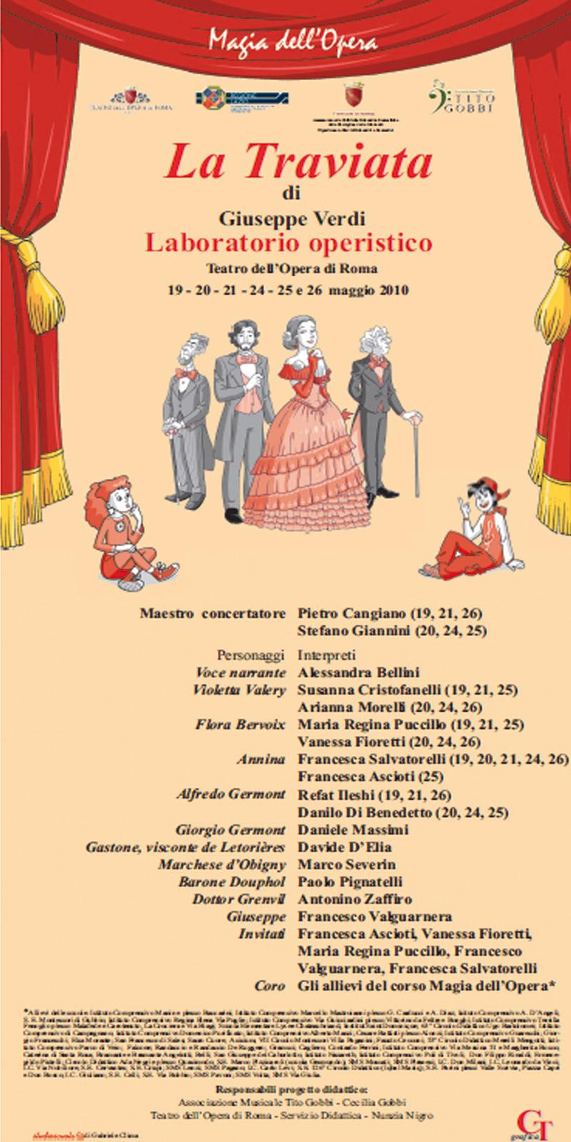 Locandina La Traviata